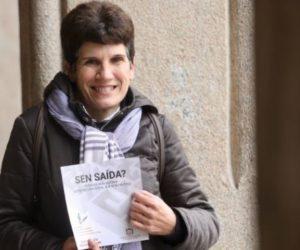 Conchi Vázquez: «A pobreza ten moitas caras»